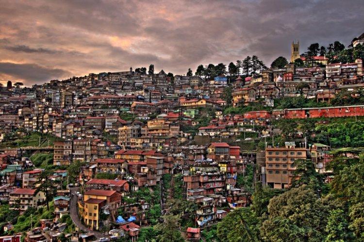 مدينة شيملا في الهند