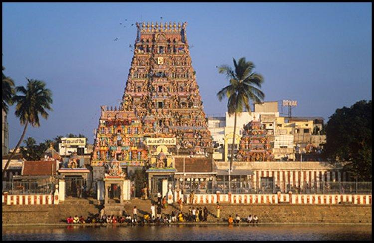 معبد كابليشوارار تحفة فنية رائعة في الهند