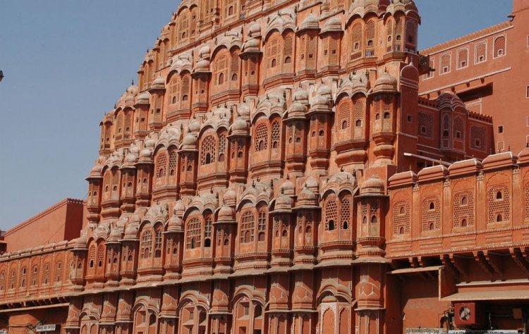 قصر الرياح في مدينة راجستان بالهند