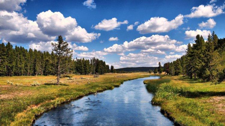 بحيرة حديقة يلوستون الوطنية