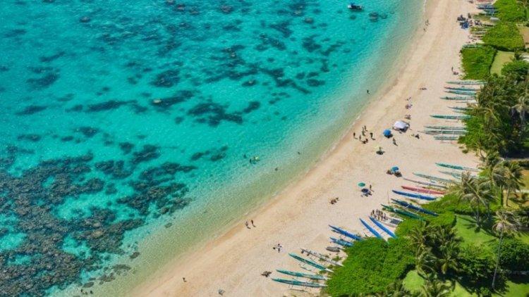 ساحل شواطئ ولاية هاواي
