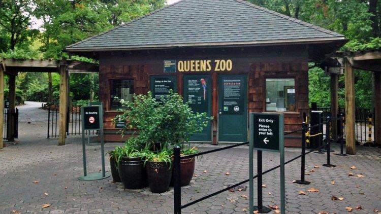 مدخل حديقة حيوان كوينز
