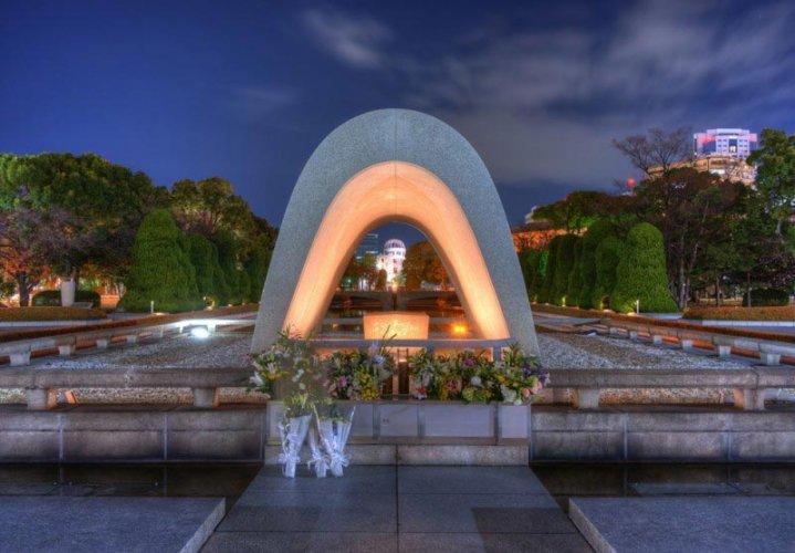 النصب التذكاري لضحايا القنبلة الذرية في هيروشيما