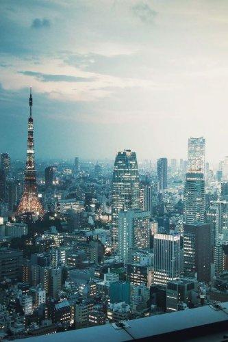 مدينة طوكيو عاصمة اليابان