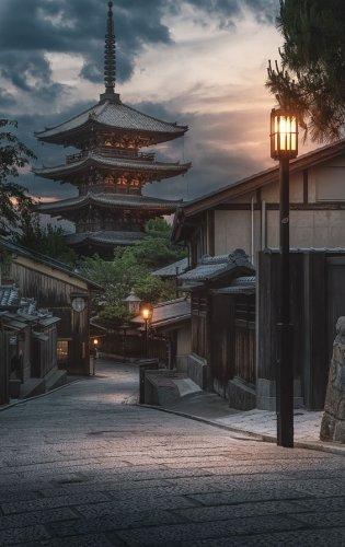 مدينة كيوتو في اليابان