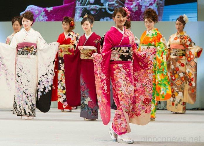 الكيمونو الزي الرسمي في اليابان