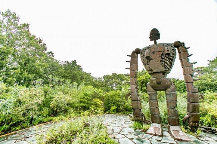 متحف جيبلي في ميتاكا باليابان