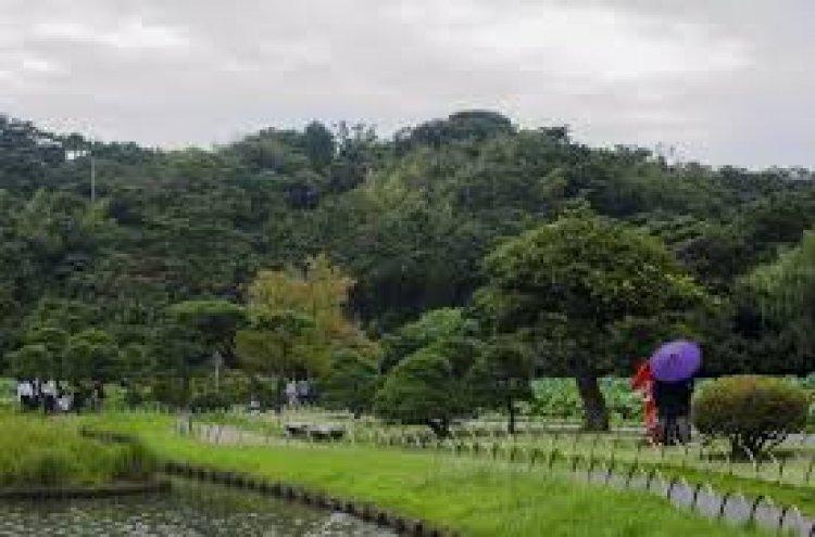 حديقة سانكين في يوكوهاما باليابان