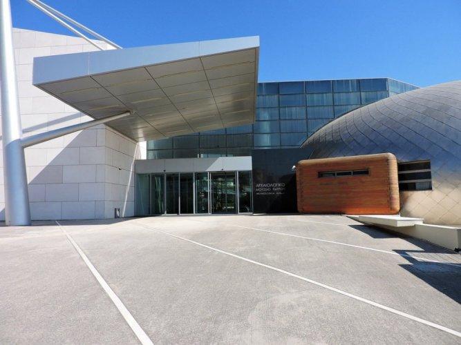 المتحف الأثري في مدينة باترس اليونانية