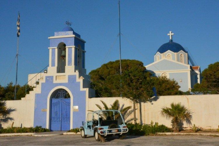 دير باناجيا كاسترياني في جزيرة كيا اليونانية