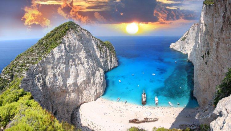 الطبيعة الخلابة في جزيرة زاكينثوس