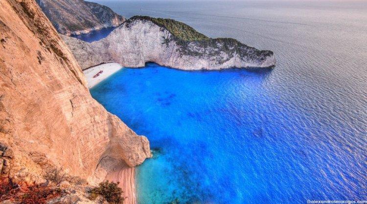 مياه جزيرة زاكينثوس