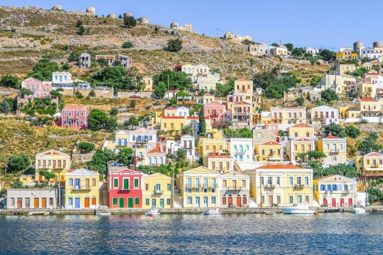 جزيرة سيمي فى اليونان