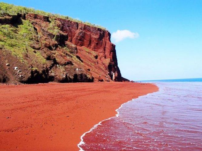 الشاطئ الاحمر