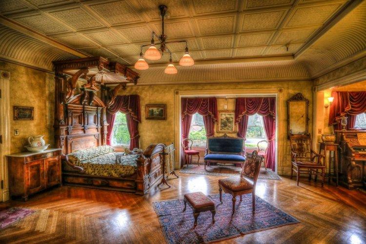 حجرة نوم في قصر وينشستر الغامض