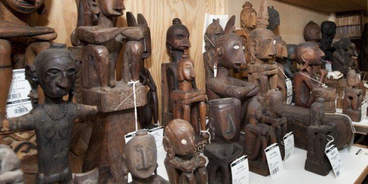 مجموعة منتقاة من المعروضات في متحف تروبين