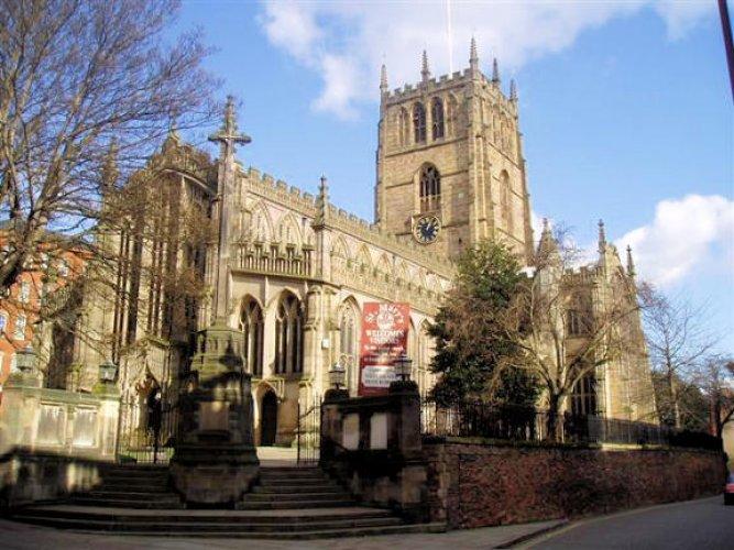 كنيسة السيدة مريم العذراء في انجلترا