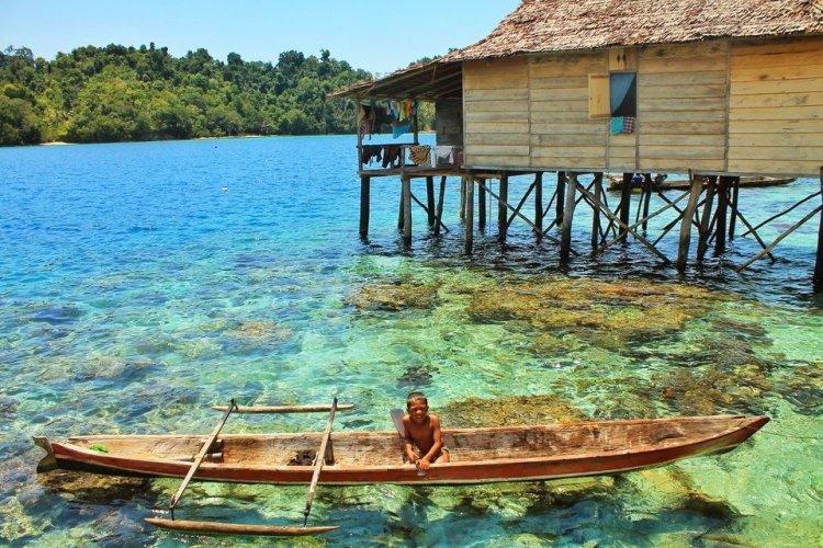 جزر توجيان في إندونيسيا