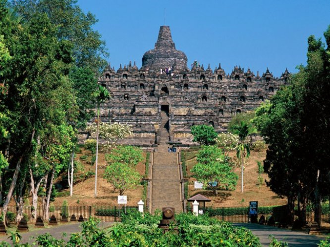 مدينة يوجياكارتا في اندونيسيا