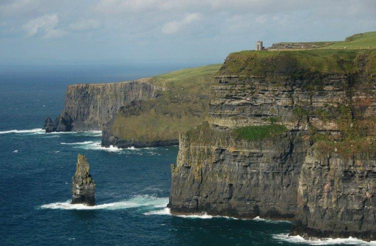 اجراف موهر في إيرلندا