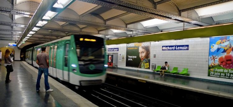 المترو في باريس