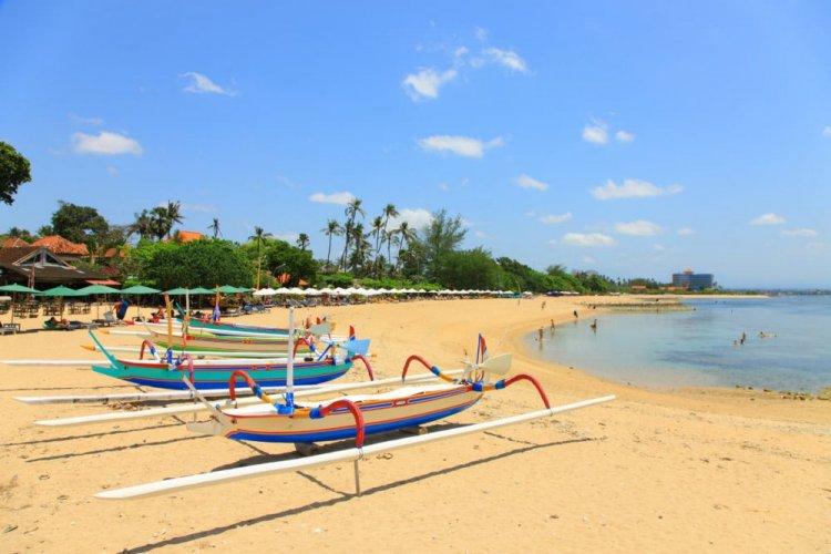شاطئ سانور في بالي