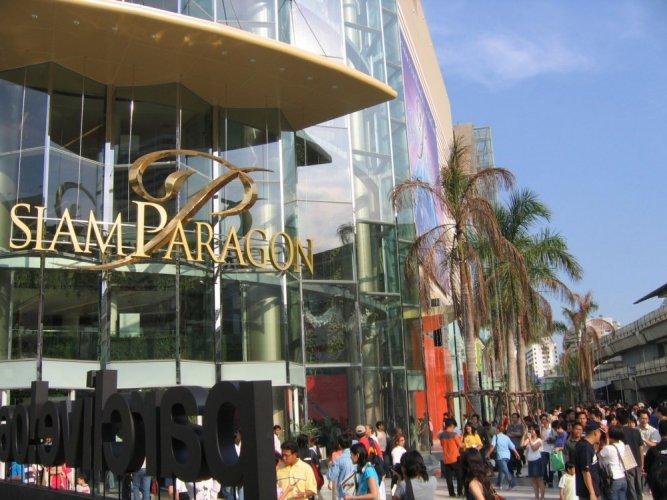 مول سيام باراجون ذو تصميم مميز وديكورات رائعة