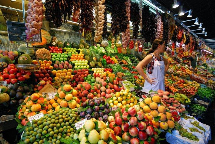 سوق البوكيرياه في برشلونة