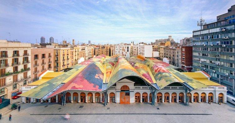 سوق القديسة كاتارينه في برشلونة
