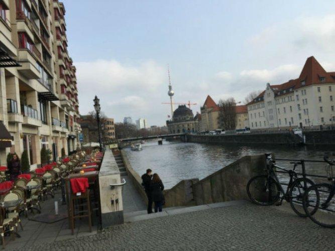 نهر شبريه في برلين