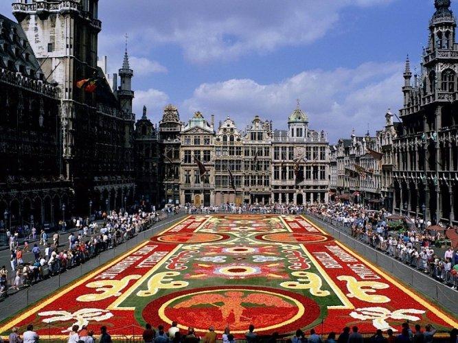 الميدان الكبير في بروكسل - بلجيكا