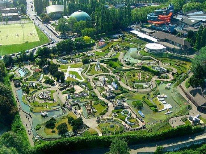 حديقة أوروبا المصغرة في بروكسل بلجيكا
