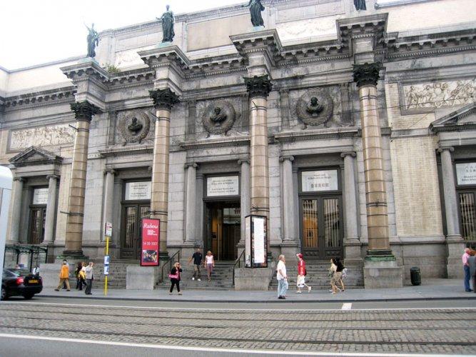 المتحف الملكي البلجيكي للفنون الجميلة في بروكسل