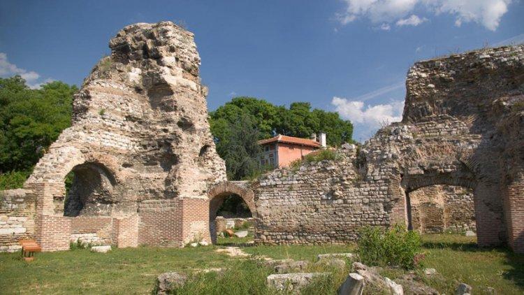 منطقة الحمامات الرومانية