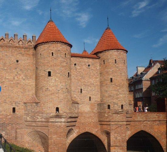 حصن وارسو في بولندا