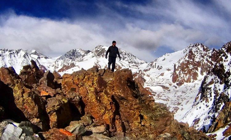 جبل بيكو بوليفار في فنزويلا