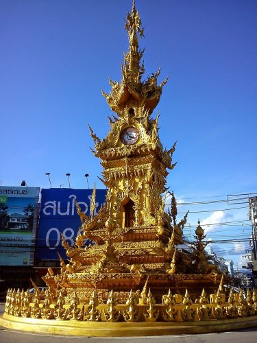 برج الساعة الذهبية شيانج راى