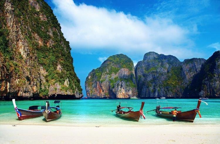 رحلة القوارب في كوه لانتا تايلاند