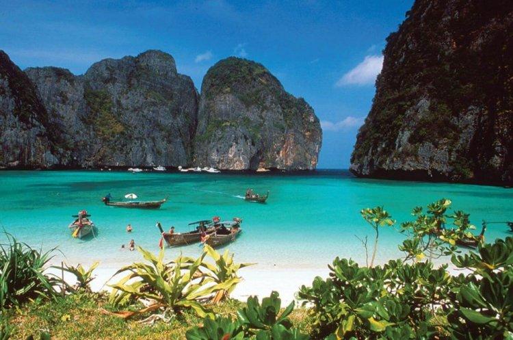 شواطئ جزيرة كوه تاو في تايلاند