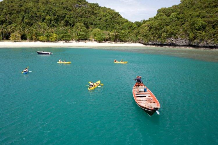 جزيرة كوه ساموي في تايلاند