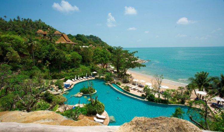 الطبيعة والجمال الاخاذ في جزيرة كوه بانجان