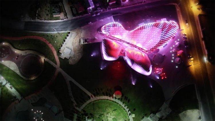 التصميم الفريد لحديقة الفراشات بقونية