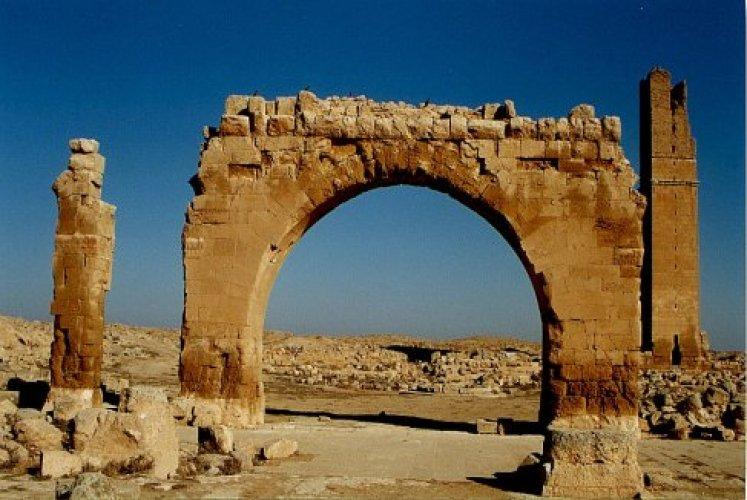 اثار مدينة حيران تركيا