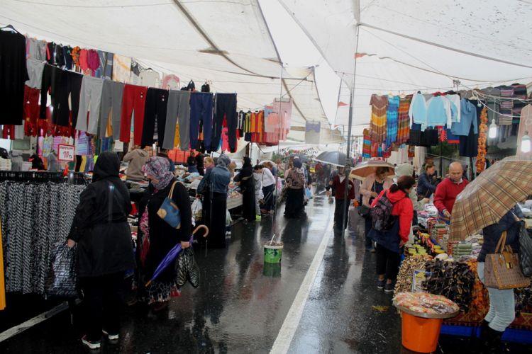 السوق الشعبي - Halk Pazari - أنطاليا