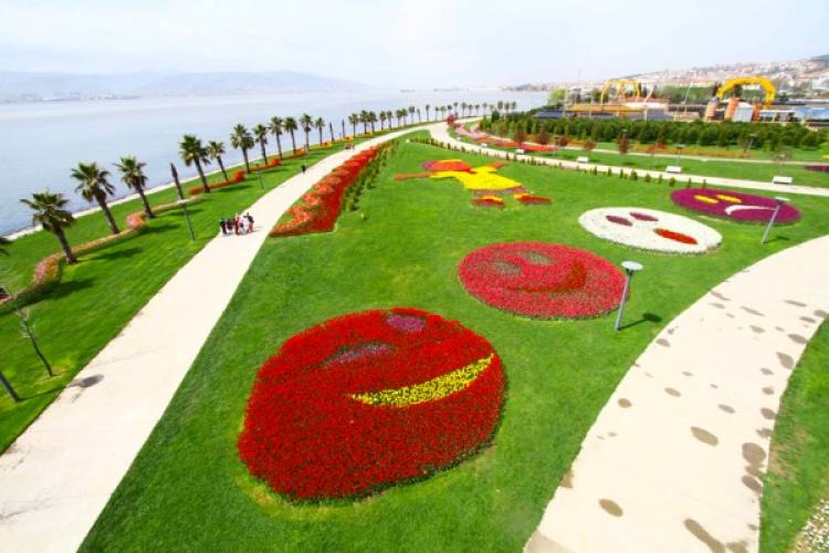 حديقة سيكا في مدينة كوجالي تركيا