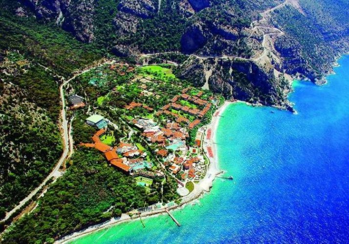 نتيجة بحث الصور عن وادي الفراشة بتركيا