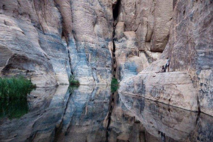 المياه الجوفية في واحة آرشي في تشاد