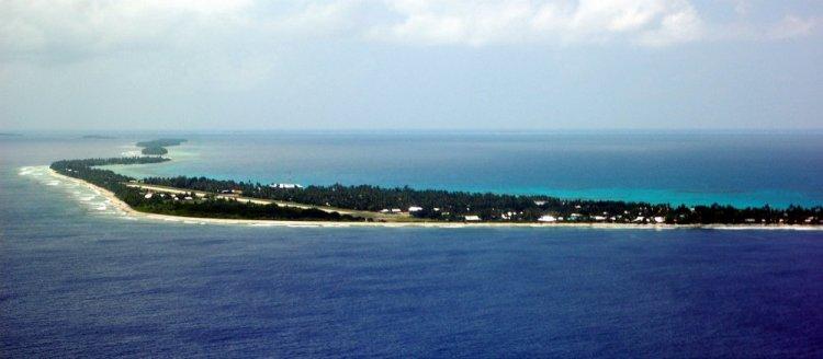 جزيرة فونافوتى المرجانية