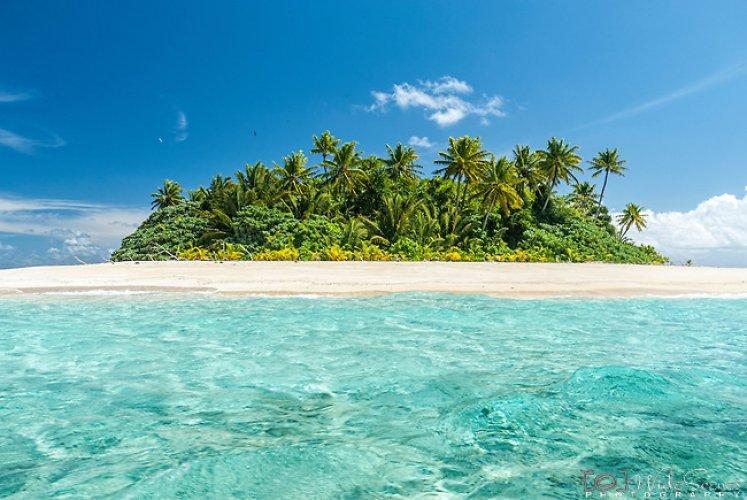 جزيرة فونافوتى في المحيط الهادئ