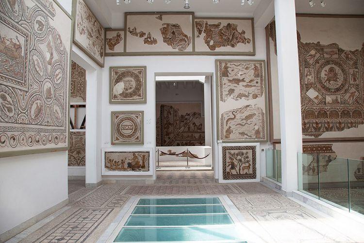 فسيفساء متحف باردو تونس